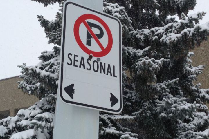 Ottawa Parking Restrictions Due to Snow